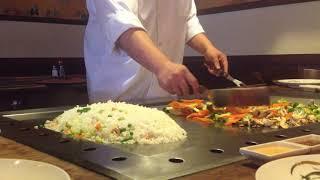 Basic Hibachi Chef Training 101 from Musashi Japanese Steakhouse in Gainesville VA