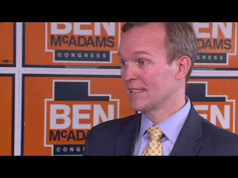 Democrat Ben McAdams flipped a U.S. House seat in heavily-Republican Utah, defeating Republican U.S. Rep. Mia Love by fewer than 700 votes. McAdams, the Salt Lake County mayor, repeated his pledge not top support Nancy Pelosi for House Speaker. (Nov. 21)