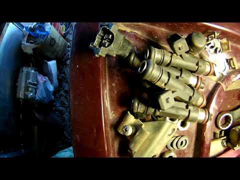 Чистка форсунок на ВАЗ-2107 инжектор.