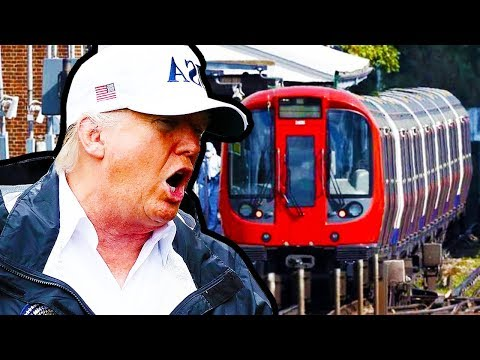 Trump On London Train Bombing