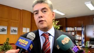 o κ. Κώστας  Αγοραστός μιλάει για την κακοκαιρία στη Θεσσαλία  31-12-12