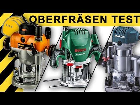 OBERFRÄSEN TEST | Bosch, Makita, Triton Oberfräse | Vergleich & Infos
