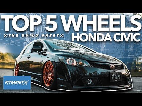 Top 5 wheels For Honda Civics | The Build Sheet