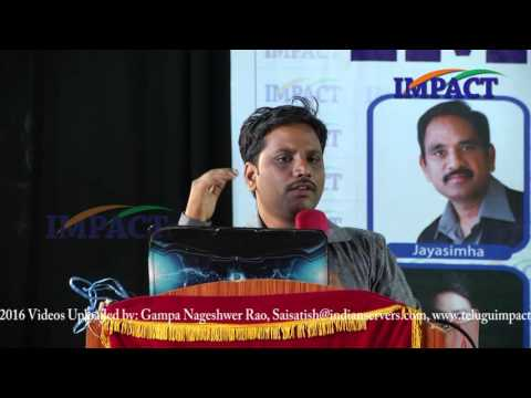 Sai Satish|Smart Scale Industries|TELUGU IMPACT Hyd Mar 2016