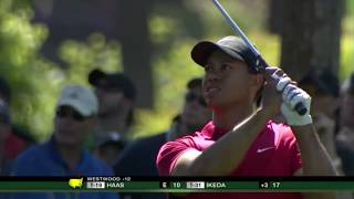 Every Eagle by Tiger Woods in the Final Round of the Masters