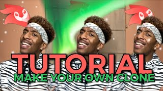 TUTORIAL : MAKE YOUR OWN CLONE | PROD.OG | VIDEOLEAP | IPHONE IOS | MASK