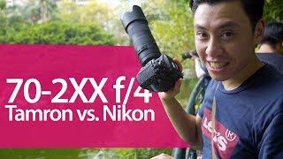 Tamron vs. Nikon 70-200mm f4