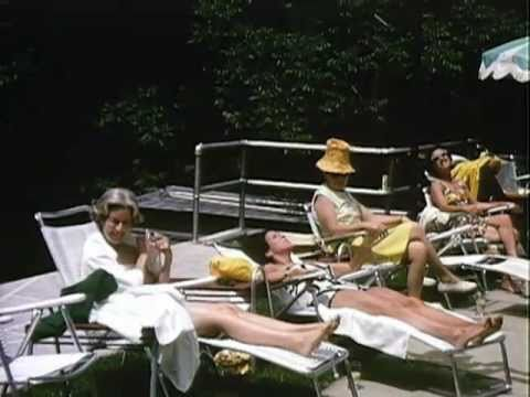 Lady Bird Johnson Home Movie #41: LBJ and others at Camp David