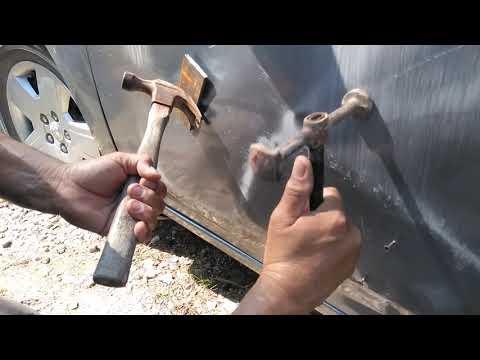 Cómo reparar fácilmente la puerta de tu carro (pt.1)