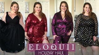 ELOQUII Holiday Try-On Haul 2018 |Plus Size Fashion|