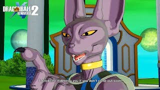 DBXV2:Beerus Special Partner Quotes[DLC 6 STORY]