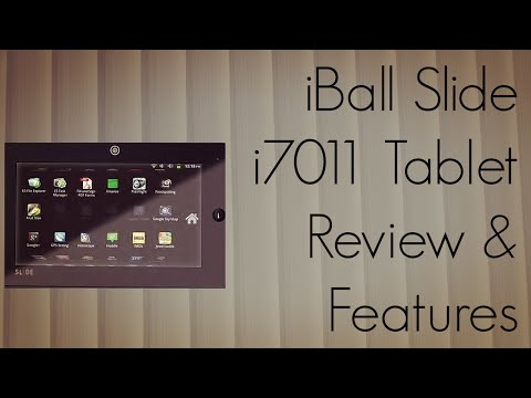 iBall Slide i7011 Tablet Review