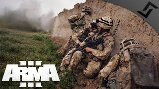 British FTL in Afghanistan /w Apache Support - ARMA 3 - British Armed Forces Gameplay