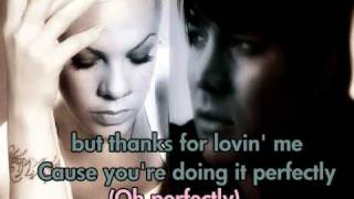 Pink and Adam Lambert- Whataya Want From Me - LYRICS ON SCREEN