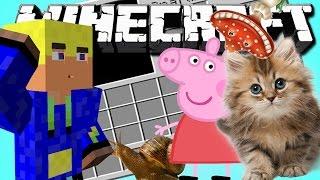 ОНИ В МОЁМ ИНВЕНТАРЕ - Minecraft(Обзор мода)
