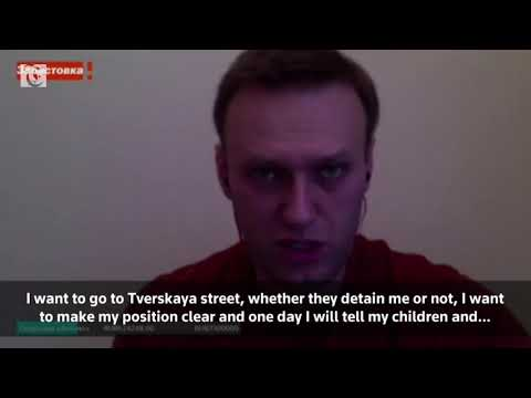 Russian opposition leader Navalny says police will not prevent him from joining protest