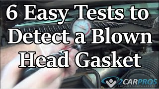 Got a Blown Head Gasket? Do This Test