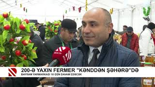 "Nearly 200 farmers sell products at the ""From Village to City"" fair"