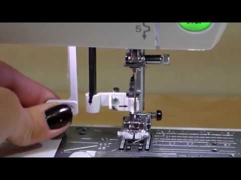Оглядове відео про швейну машинку JANOME DC 7100