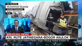 Breaking News: KRL Rute Jatinegara-Bogor Anjlok