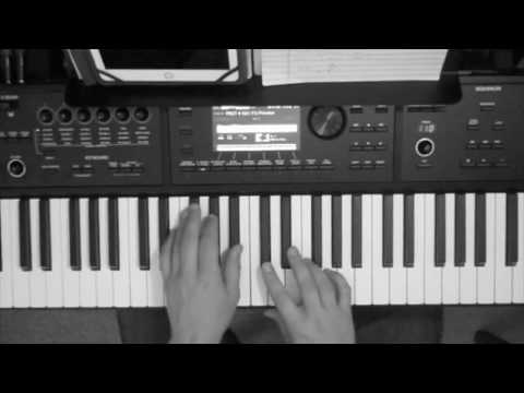 """Let It Go"" piano tutorial and cover by James Bay"