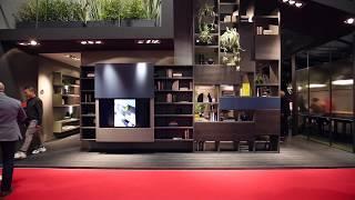 Salone del Mobile 2018   FIMAR   soggiorni moderni, librerie design, porta tv, letti, armadi