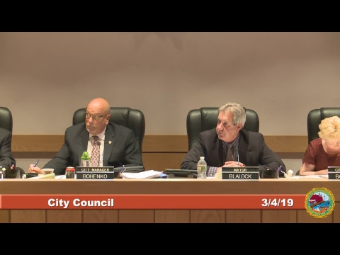 City Council 3.4.19