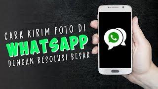 Cara Mudah Kirim Foto di Whatsapp Android agar Tidak Blur Tanpa Kompres