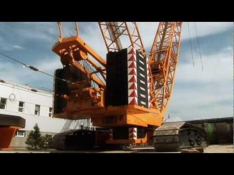 Jeřáb Demag CC 2800  videoprezentace