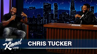 Chris Tucker on NBA Finals with Kareem Abdul-Jabbar, Turning 50 & Stand-Up at Dave Chappelle's