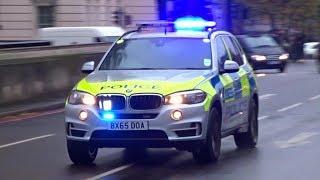 Armed Police patrols responding x2 - BMW X5s