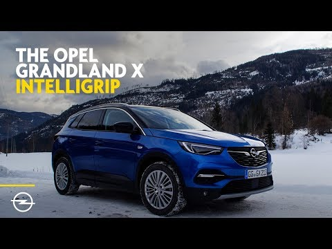 IntelliGrip: Optimum Traction at all Times for Opel  Grandland X