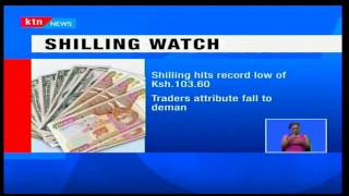 KTN Prime: Shillings continues to plummet owing to surge in demand by importers