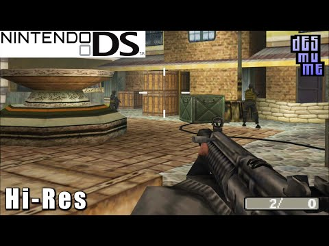 Call of Duty: Modern Warfare: Mobilized - Nintendo DS Gameplay High Resolution (DeSmuME)