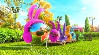 Солнечные зайчики на Луне. (Sunny bunnies on the Moon)