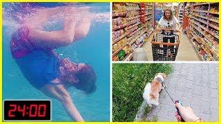 Yaz Tatili Günlük Rutinim Havuz Alışveriş Melo Eğlenceli Çocuk Videosu Dila Kent