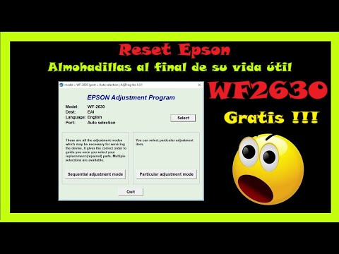Reset Epson WF 2750 by Adjustment Program - смотреть онлайн