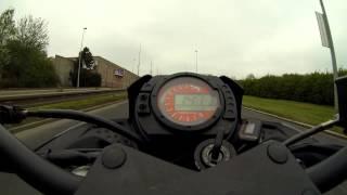 preview picture of video 'Kawasaki Z750 Praha Evropská 1.5.2013'