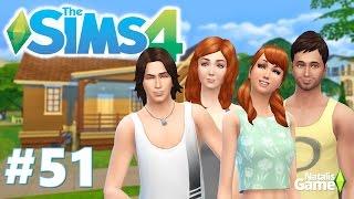 The Sims 4 Семейка Митчелл / #51 Няня Люся