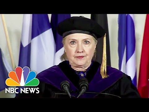 Hillary Clinton: Authoritarian Regimes Attempt To Control Reality | NBC News