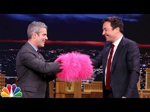Muff of Truth with Andy Cohen and Jimmy Fallon