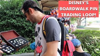 Come Pin Trade With Us Around Disneys Boardwalk Loop!