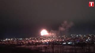 Как Новый год приходил в Старобельск: салюты над городом