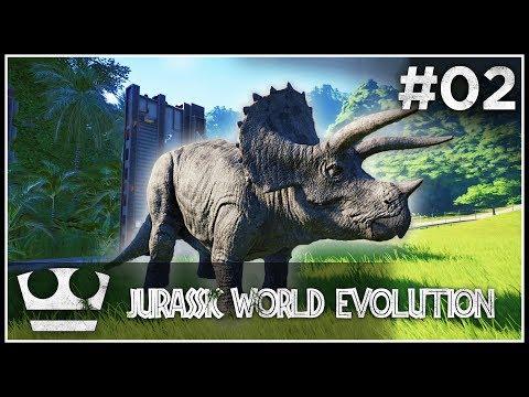 Utekl nám první dinosaur! JURASSIC WORLD EVOLUTION #02