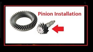 Setting The Pinion, Crush Sleeve Install . How To Install Ring And Pinion Gears