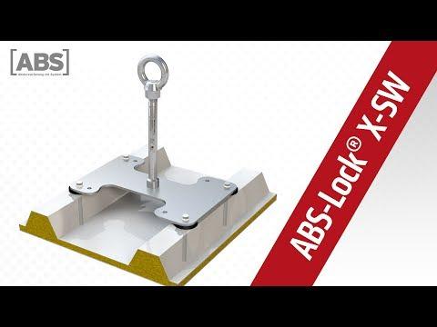Présentation vidéo compacte concernant le point d'ancrage ABS-Lock X-SW
