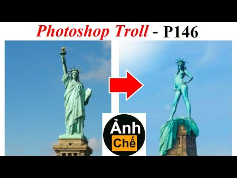 Ảnh Chế  💓 Photoshop Troll (P 146), James Fridman, Liberty Enlightening the World
