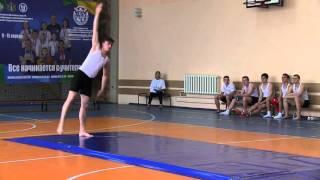 олимпиада школьников по физ.культуре.Ульяновск 2016.гимнастика