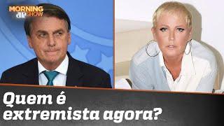 Bolsonaro rebate Xuxa após ser chamado de genocida