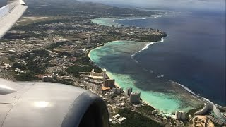 United Airlines B737-800 - Guam to Tokyo